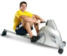 Velocity Rower in Use