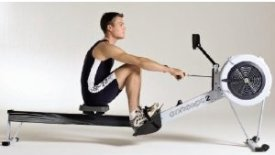Concept2 Model D Indoor Rower in Action