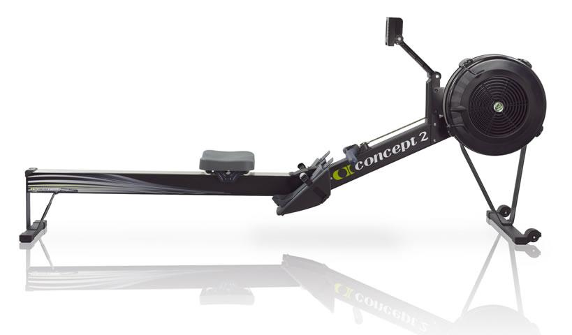 Concept 2 Rower - Model D in Black Color