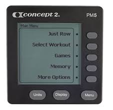 Concept2 Model D Console - PM5 Performance Monitor