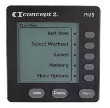 Concept2 Model E PM5 Performance Monitor