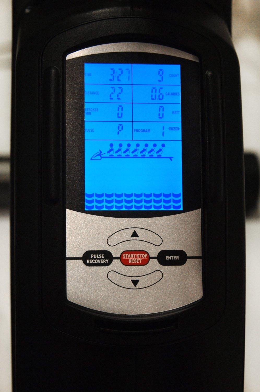 Avari Magnetic Rower Console