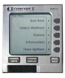 Concept2 PM4 Performance Monitor