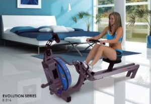 First Degree Fitness Indoor Rower In Motion