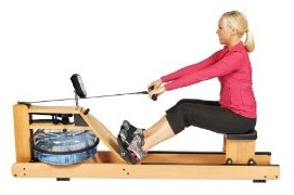 H2O Fitness Seattle Wooden Rower