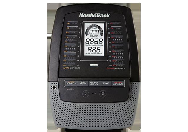 NordicTrack RW200 Console