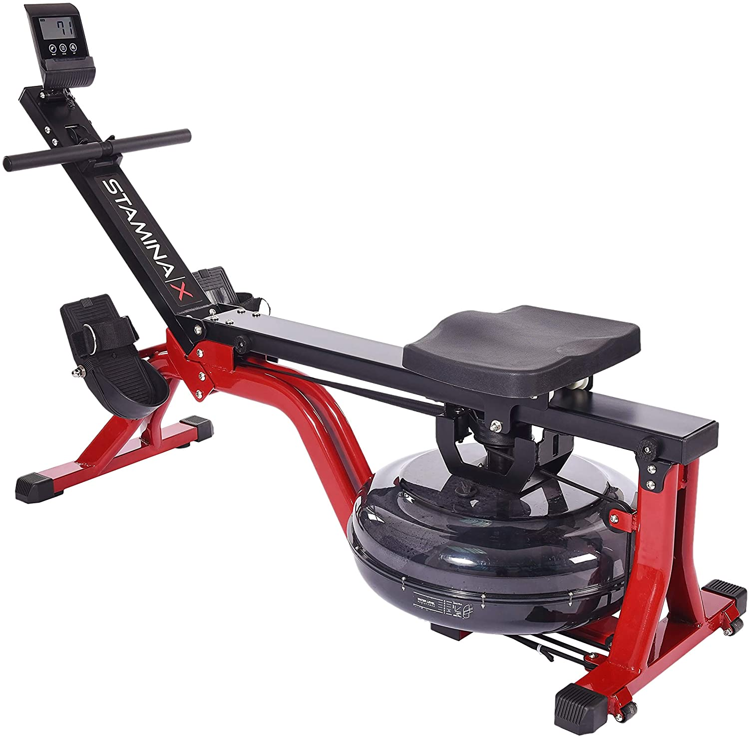 Stamina X Water Rower With Multi Function Display