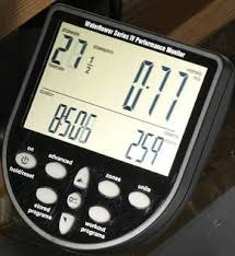 Rowing Machine Strokers Per Minute - LCD Console