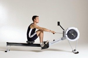 Concept 2 Rowing Machine Model D in Action